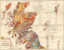 Geological Survey Map of Great Britain, Sheet 1 North. 1948.